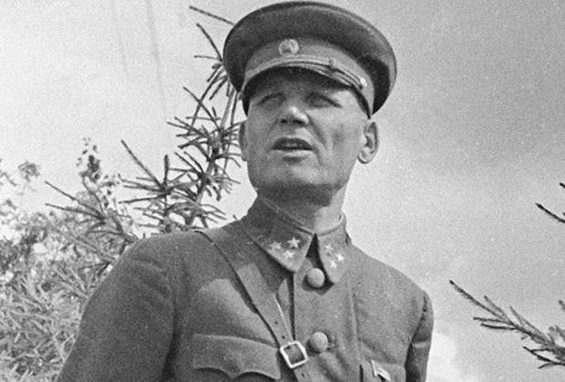 Командующий 19-й армии Западного фронта генерал-лейтенант Иван Степанович Конев