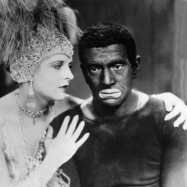Сцена из американского фильма «Певец джаза» (The Jazz Singer), 1927 год
