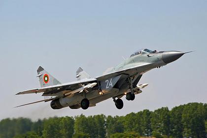 Болгарский МиГ-29 потерпел крушение вовремя учений над Чёрным морем