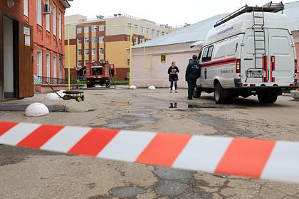 Число пострадавших при пожаре вбольнице Рязани увеличилось