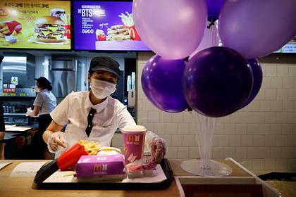 Фанаты корейской группы стали причиной закрытия филиалов McDonald's вИндонезии