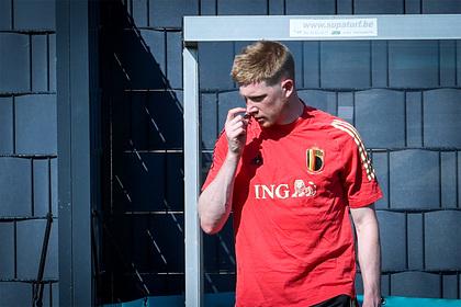 Лидер сборной Бельгии пропустит матч сРоссией наЕвро