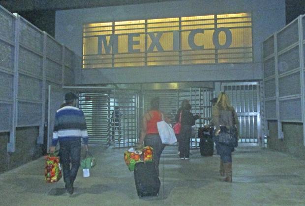 Пеший переход из США в Мексику