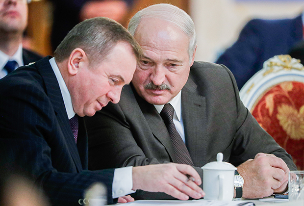 Владимир Макей и Александр Лукашенко