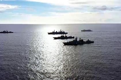 Россия развернула корабли в Тихом океане для учений