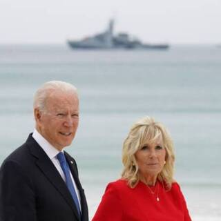 Джо и Джилл Байден на саммите G7