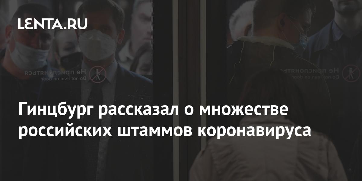 Гинцбург рассказал о множестве российских штаммов коронавируса