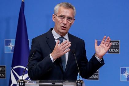 Генсек НАТО потребовал продления антироссийских санкций