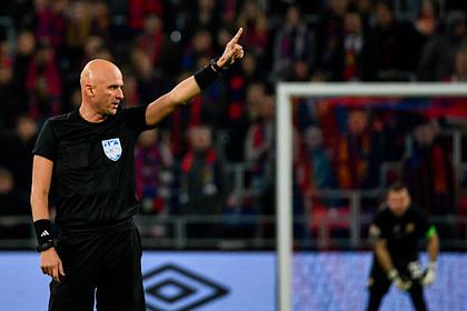 Российский арбитр обслужит матч Евро между сборными Италии и Швейцарии