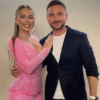 Анна Дзюба и Сергей Лазарев