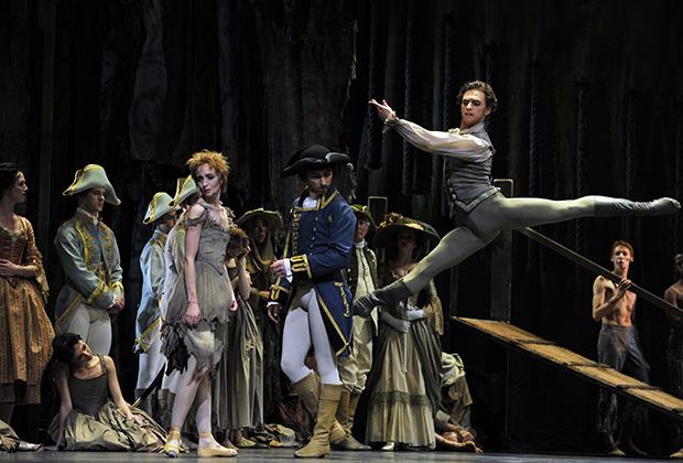 Лондон. Королевская опера, Ковент-Гарден. Балет «Манон». Танцует Сергей Полунин
