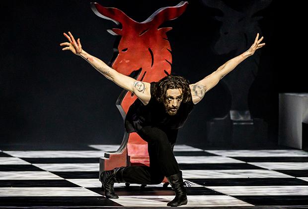 Фрагмент балета «Распутин». Танцует Сергей Полунин