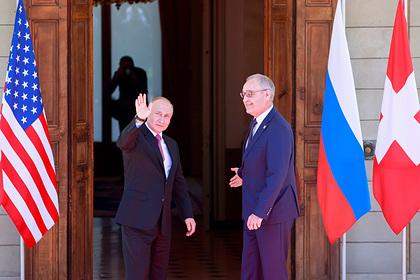 Президент Швейцарии невнятно пожелал Путину успехов по-русски