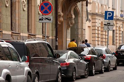 Россияне рассказали о нехватке парковок
