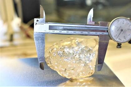 Найден один из крупнейших алмазов в мире