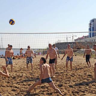 Городской пляж Якутска