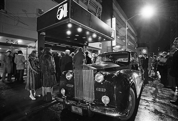 Очередь на вечеринку в Studio 54, 1978 год