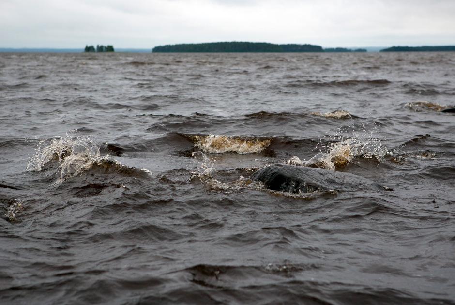 Сямозеро в Карелии, где в туристическом походе во время шторма погибли дети