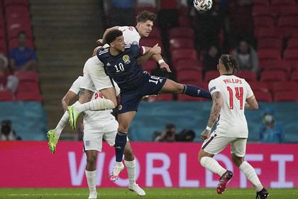 Англия потеряла очки в матче с Шотландией на чемпионате Европы