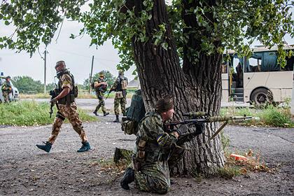 Украина обвинила ДНР и ЛНР в стягивании танков к линии соприкосновения