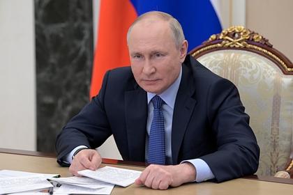 Путин назвал свой топ кандидатов в лидеры «Единой России»