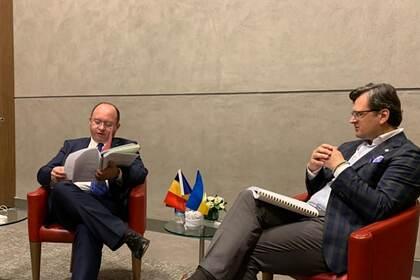 Богдан Ауреску и Дмитрий Кулеба