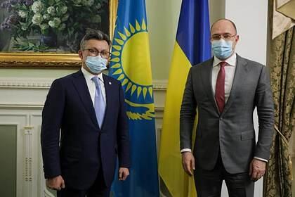 Бахыт Султанов и Денис Шмыгаль