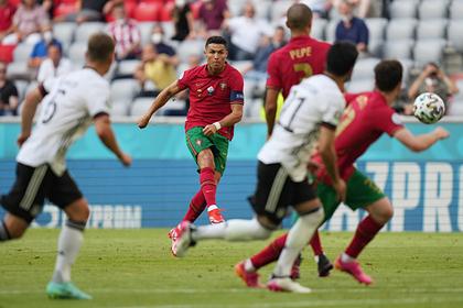 Сборная Германии обыграла Португалию в матче Евро