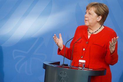 Жители Германии возмутились речью Меркель о Второй мировой войне