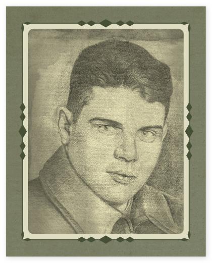 Мой отец — Надеждин Федор Федорович, старший сержант. Рисунок сделан в июне 1945 года в Кенигсберге