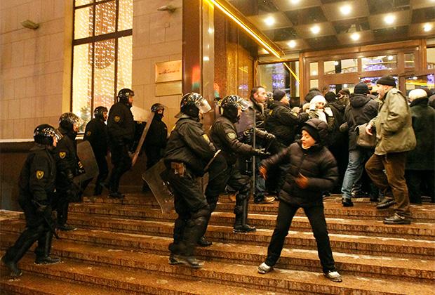 Протесты в Минске, декабрь 2010 года