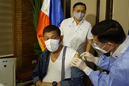 Президент Филиппин пригрозил населению тюрьмой за отказ от вакцинации