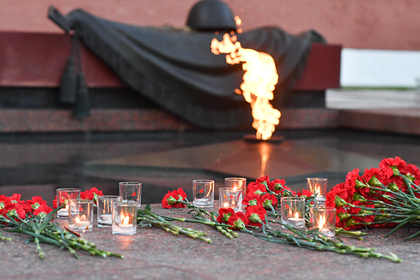 В России прошла минута молчания впамять опавших вВеликой Отечественной войне