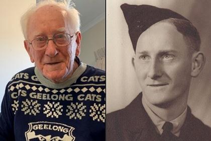 100-летний ветеран Второй мировой войны поделился секретом долголетия