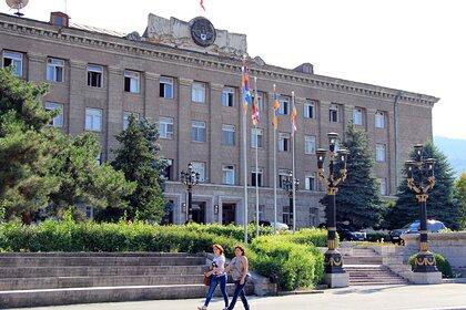 Президентский дворец в Степанакерте