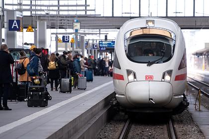 Германия взялась спасать планету поездами