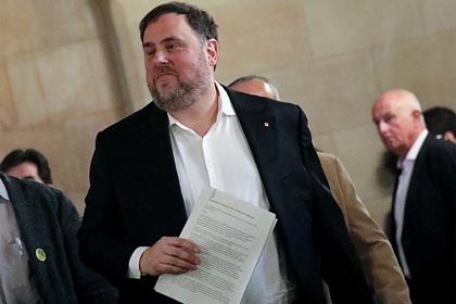 В Испании помиловали осужденных политиков-сепаратистов