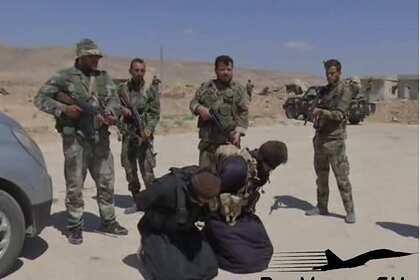 В Сирии поймали охотившихся за российскими военными террористов