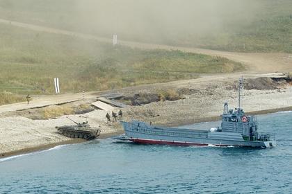 Российские военные начали масштабные учения в Японском море