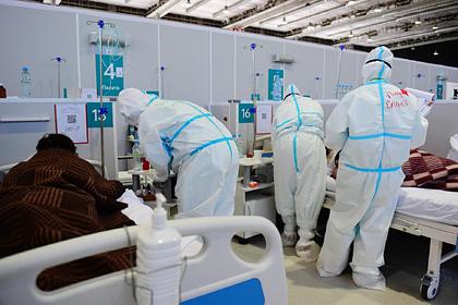 В России выявили 17 594 новых случая коронавируса