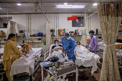 В Индии предупредили о молниеносной заразности новейшего штамма коронавируса