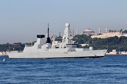 Российские военные раскрыли детали инцидента с британским эсминцем в Черном море
