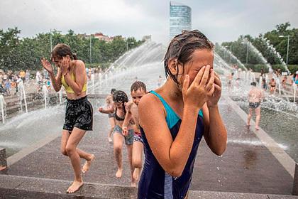 Аномальная жара вПетербурге побила пятый рекорд подряд