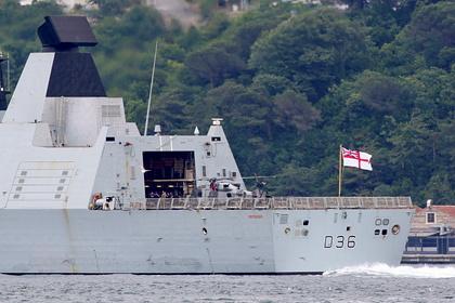 Опубликован маршрут нарушившего границы России британского эсминца