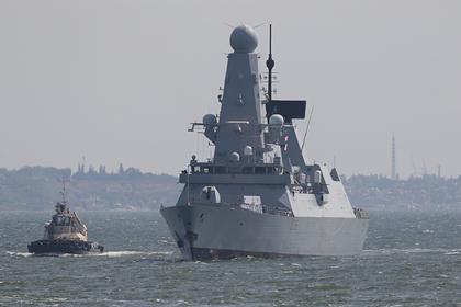 В Британии раскрыли детали инцидента с эсминцем в Черном море