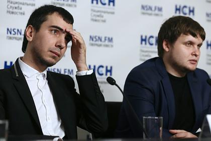 Пранкеры Владимир Краснов (Вован) и Алексей Столяров (Лексус)