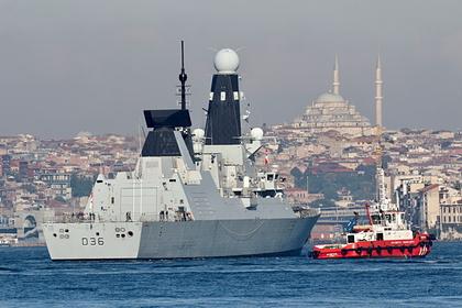 Россия высмеяла реакцию Украины на инцидент с британским эсминцем в Черном море