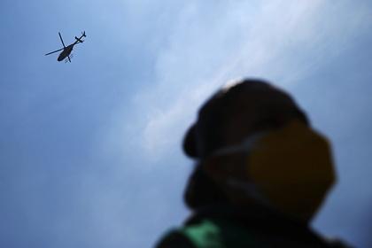 Шесть человек погибли при крушении военного вертолета на Филиппинах