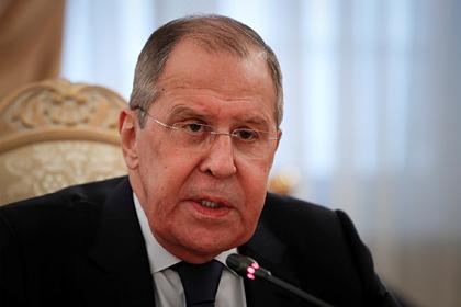 Лавров рассказал об отказе НАТО от контактов с Россией