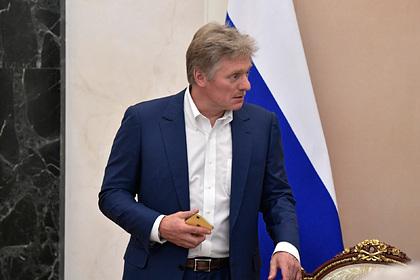 Песков оценил слова Рябкова «мы можем бомбить»